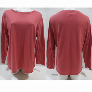 Boden top US 16 UK 20 basic solid long sleeve